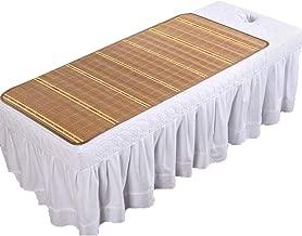 YJFENG Mattress Topper Summer Sleeping Mats Mattress Protector Beauty Salon Hospital Foldable Single Bed Health Tidy,8 Sizes (Color : Natural, Size : 70x160cm)