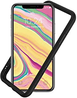 RhinoShield Ultra Protective Bumper Case Compatible with [iPhone Xs/X] | CrashGuard NX - Military Grade Drop Protection Against Full Impact, Slim, Scratch Resistant - Black