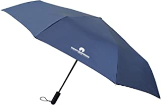56 Inch Auto Open and Close Golf Umbrella, Navy, One Size