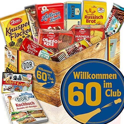 Keks Geschenke / Ost Box / Wilkommen im Club 60 / 60 Geburtstag Mama