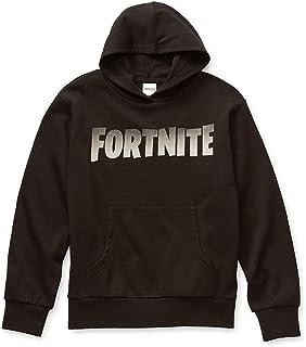 FORTNITE Logo Big Boys Sweatshirt Pullover Hoodie Video Game Licensed