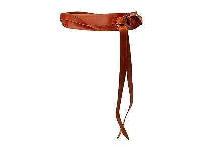 ADA Collection Midi Wrap Belt (Cognac) Women