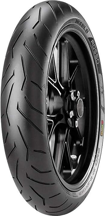 Pirelli diablo rosso 2 120/70 zr 17 m/c (58w) tl (k) anteriore supersport pneumatici moto e scooter B009IPZQSO