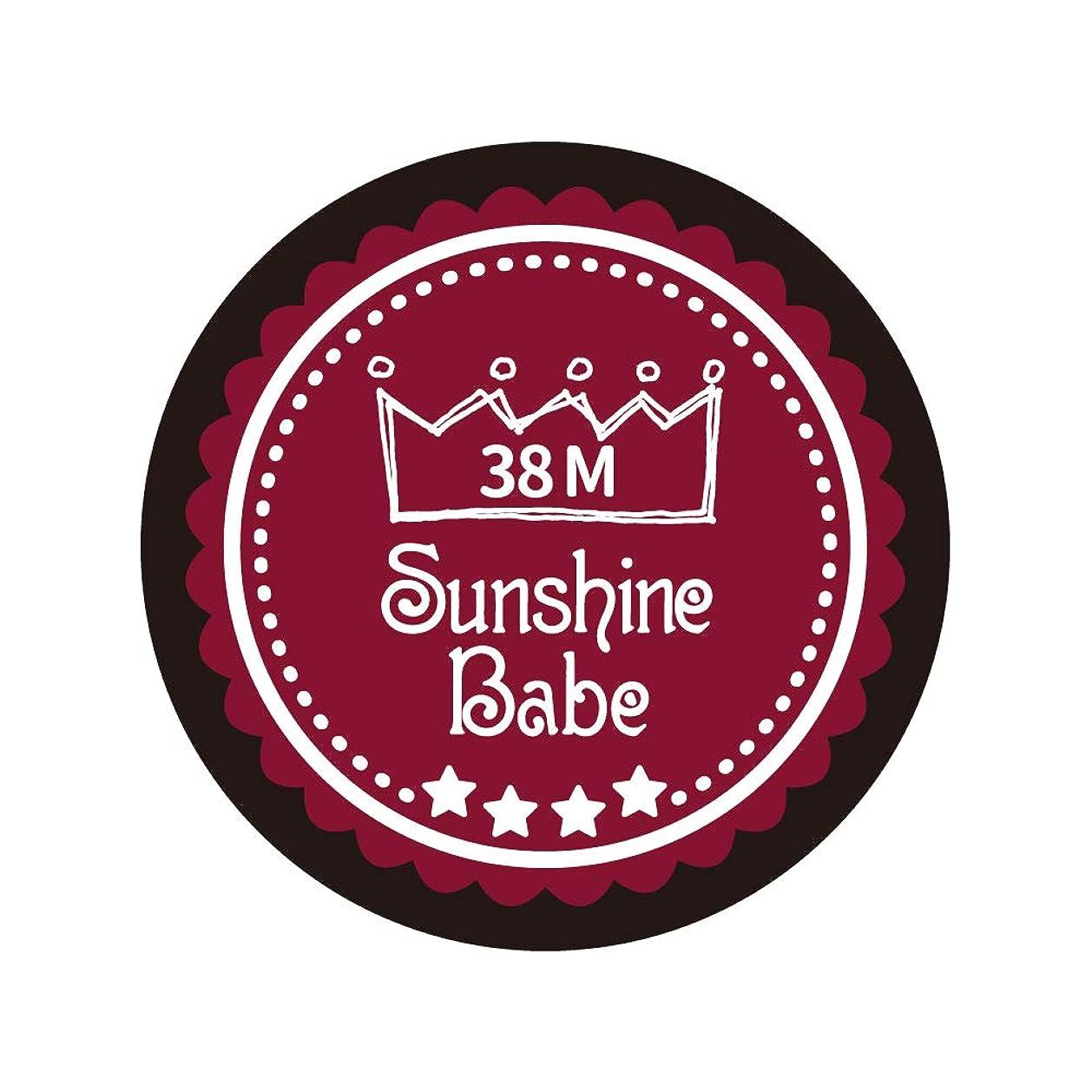 進化魅力救援Sunshine Babe カラージェル 38M レッドペア 2.7g UV/LED対応