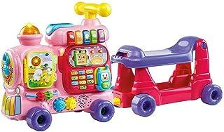 VTech Push & Ride Alphabet Train - Educational Ride-on Train for Kids - Pink - 181953