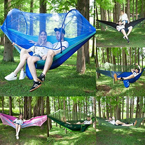 best outdoor hammocks with mosquito net