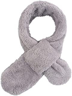 روسری دختران پسران روسری گرم زمستان پاییز یقه بچه گانه روسری گردن گرمکن کودکان روسری 1-6Y
