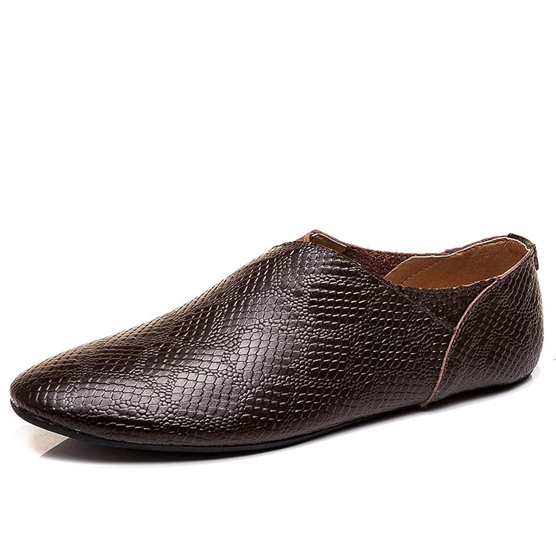 [Hardy] ビジネス 防滑 カジュアル 耐久 通気 シューズ ハイキング 革靴 メンズ 軽量