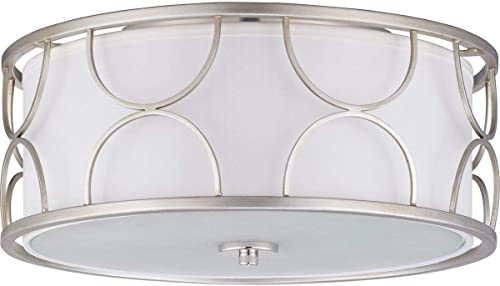 """discount Landree Collection 16"""" new arrival Three-Light Flush lowest Mount outlet sale"""