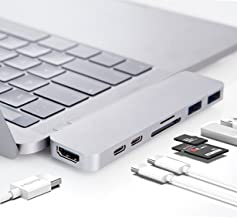 HyperDrive USB C Adapter, Sanho Type-C Duo Hub 50Gbps for MacBook Pro 13