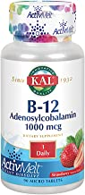 KAL B-12 Adenosylcobalamin Activmelt, Strawberry, White, 90 Count