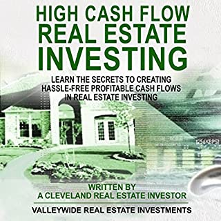 High Cash Flow Real Estate Investing: Boxed Set-2 Books audiobook cover art