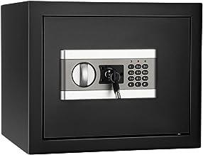 ETE ETMATE Safe Security Box Documents Coffre-Fort,Mot de Passe Electronique Ignifuge et Etanche, Coffre-Fort pour Bureau ...