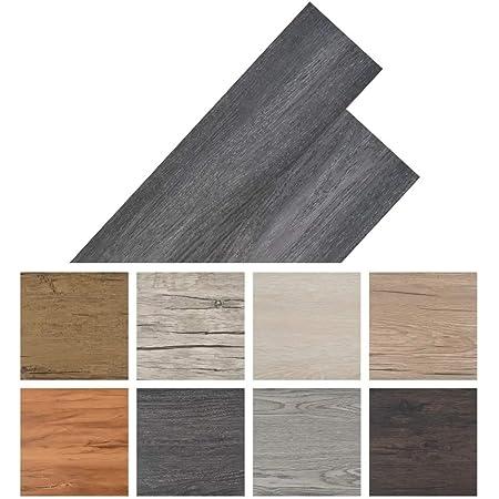 Holz-Braun PVC-Bodenbelag Bodenschutz Belag ca.3㎡//Rolle Holz Folie selbstklebend Holzoptik Klebefolie verdicke Aufkleber St/ärke 0,35mm f/ür Boden Wand M/öbel
