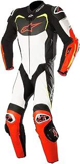 Alpinestars GP Pro Men's 1-Piece Street Race Suits - Black/White/Red/Yellow / 48