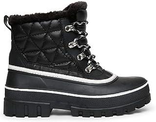 Steve Madden Women's Billow Snow Boot, Black, 9