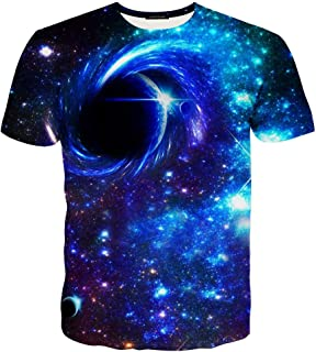 GUAHUAXIANG Unisex Casual 3D Printed T-Shirts Short Sleeve Tops Tees