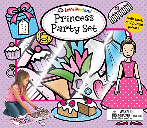 Let's Pretend Princess Party Set: With Book and Press-Out Pieces