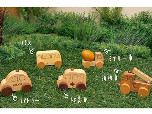 Soopsori(スプソリ)『木のおもちゃ木製ミニカー5個セット』