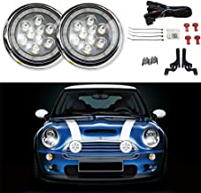 MINI Cooper R50 R52 R53 Cooper S Front Bumper Rally Fog Light Set L&R W/Bracket 2001 2002 2003 2004 2005 2006