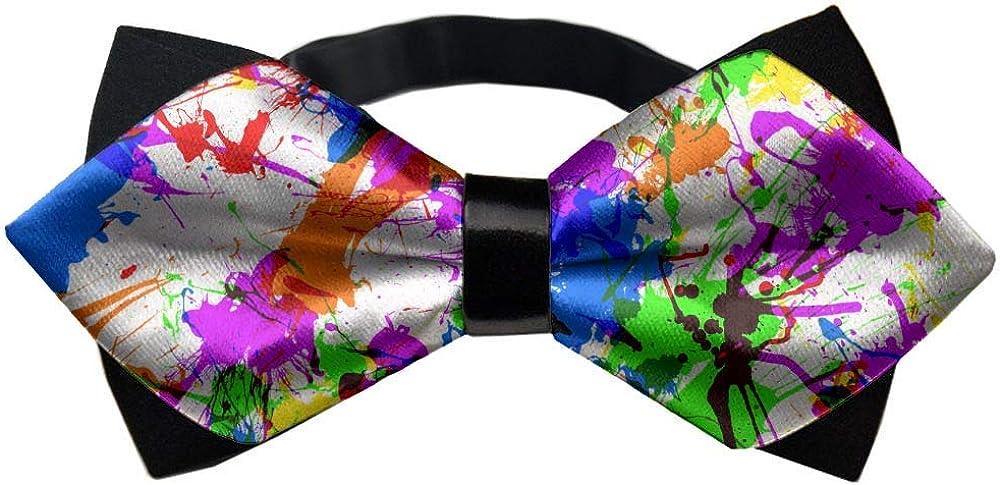 Pre-Tied Bowties, Creative Bow Ties, Men Boys Adjustable Elegant Tuxedo Tie