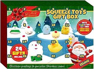 VICASKY Calendário de advento de Natal com 24 peças de ornamentos de Natal, decorações de Natal, ornamentos de árvore de N...