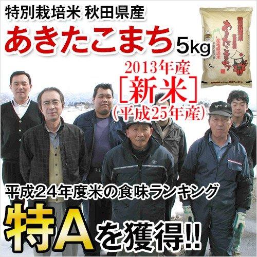 全国産直米の会 秋田県産 特別栽培米 あきたこまち 5kg 白米