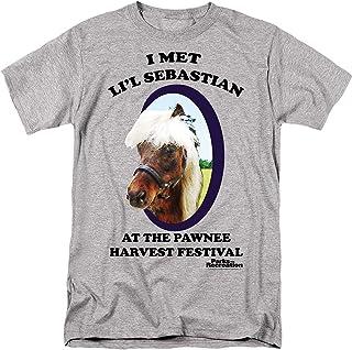 Parks & Recreation Lil' Sebastian Adult T-Shirt in Heather