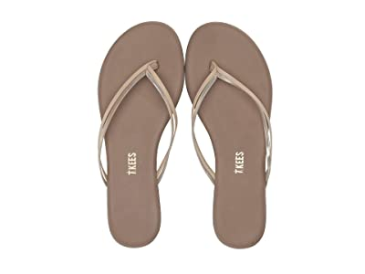 TKEES Flip-Flop-Duos (Oyster Shell) Women