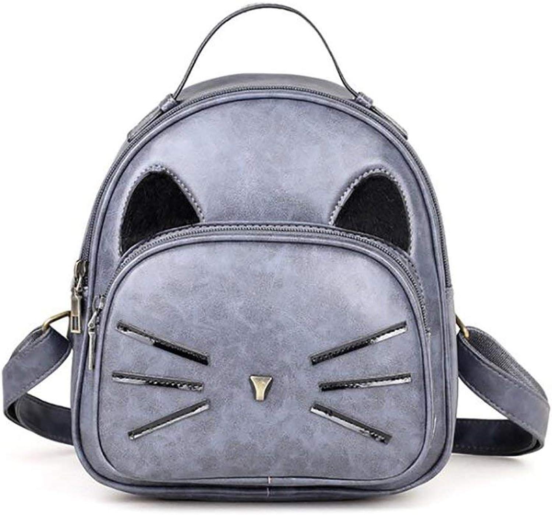 Amayay Daypacks Erwachsene Erwachsene Erwachsene Stylisch Backpack Vintage Fashion Damen Tasche Casual Multifunktions Einfacher Stil Leder Rucksack Handtasche Pu 22   25Cm (Farbe   Colour, Größe   One Größe) B07Q4J41CV  Qualitätskönigin 3709f5