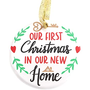 First Christmas In New Home 2020 Amazon.com: Julius Thomson First Home Ornament 2020 First