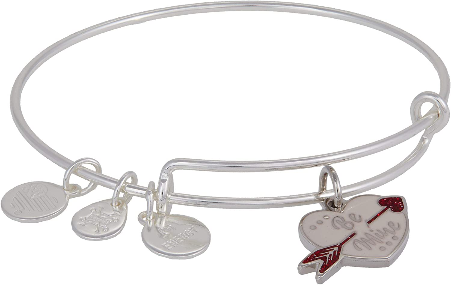 Alex and Ani Color Infusion Be Mine Expandable Wire Bangle