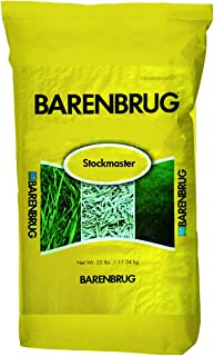 Barenbrug Stockmaster25 Tall Fescue Pasture Seed - Forage Mixture for Livestock, Cattle, Sheep, and Horses -  25 lbs - Covers 1 Acre
