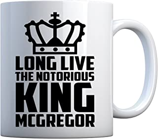 Mug Long Live the King 11oz Pearl White Gift Mug
