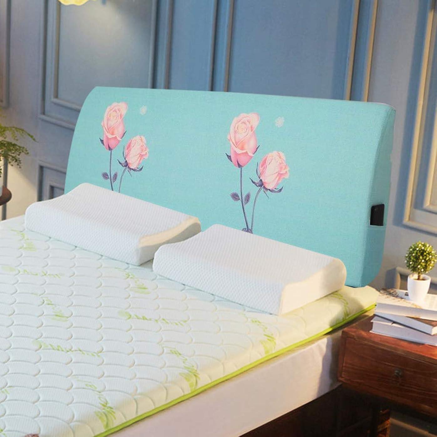 フィードアーティキュレーション韓国ベッドなし クッション, ソフトバッグ 畳 ベッド 大きな背もたれ, ベッドリネン カバー リムーバブル洗浄, パディング スポンジ-s