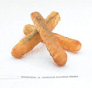 McCain Golden Crisp Fryersaver Battered Zucchini Stick - Appetizer, 2 Pound -- 6 per case.