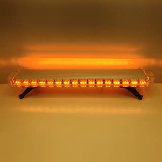 Szcafelimy 108 LED Amber light Source Car Roof Magnet Caution Light Strobe Light Roadblock Indicator light Emergency Warning LightBar