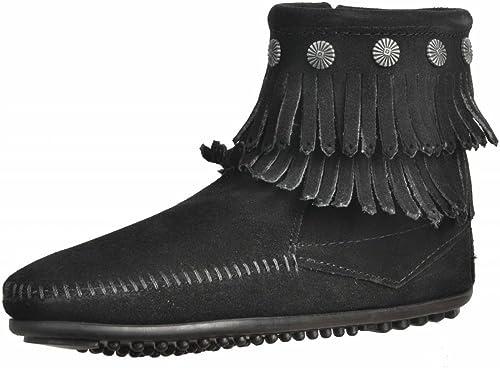 Minnetonka Stiefelleten Stiefel Damen, Farbe Schwarz Marke, Modell Stiefelleten Stiefel Damen 47252 Schwarz