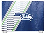 NFL Seattle Seahawks Tempered Glass Cutting Board with Display Stand