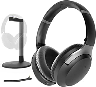 Avantree Aria Me Wireless Bluetooth Headphones Headset for Seniors, Hearing Impaired, Enhanced Clarity, Charging Stand, ap...