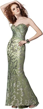 4f0bd7997f Clarisse Irridescent Prom Dress 9130. Currently unavailable. Clarisse  Strapless Metallic Gown 17183