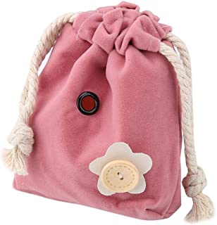 トラベルバッグペットキャリア、ハムスターバッグ、ハムスターペットウサギ用ハムスターキャリアリス(pink)