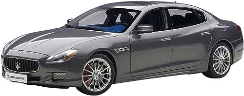 AUTOart 75806 Maserati Quattroporte GTS 2015 Echelle 1 18 Grau
