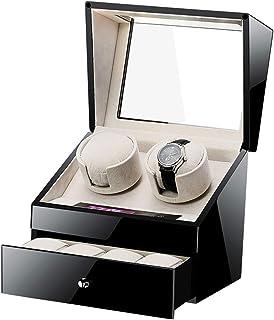 WWBFDC - Winder de Reloj automático, Touch Smart with Drawer Watch Storage Mostrar Caja Caja for Hombre Relojes for Mujer for 6 Regalos de Watchholiday WTZ012