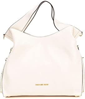 Michael Kors Devon Large Shoulder Tote, Light Cream