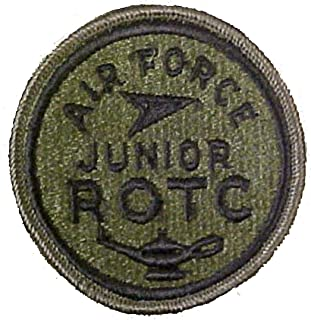 Air Force JROTC Patch (Round) Subdued