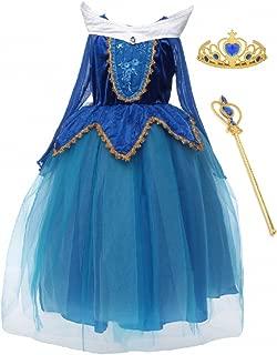 Best princess aurora blue dress costume Reviews