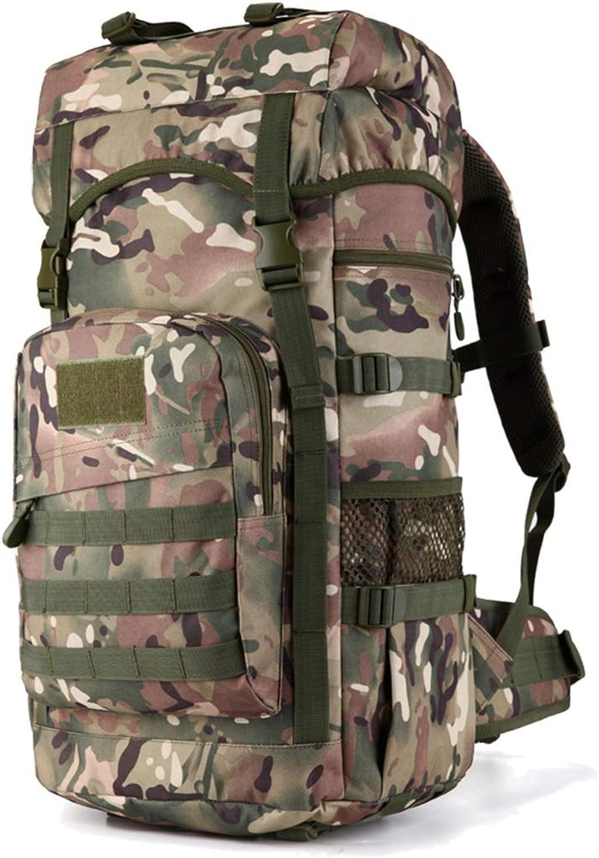 Outdoor Bergsteigen Tasche Multifunktions-Reiserucksack Wanderrucksack Mit Groer Kapazitt Wasserdicht ZHJDD (Farbe   D)