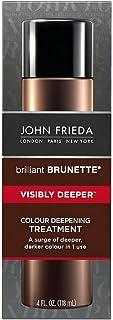 John Frieda Brilliant Brunette Treatment Visibly Deeper 4 Ounce (118ml) (2 Pack)