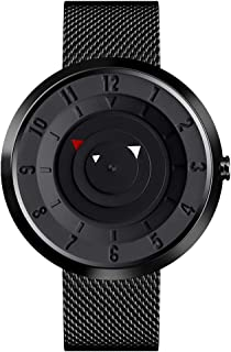 CFGem Black Minimal/Contracted Style Analog Automatic Wrist Watch for Men
